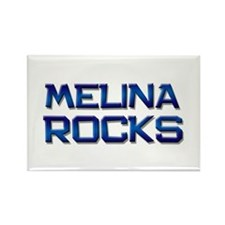 melina rocks Rectangle Magnet