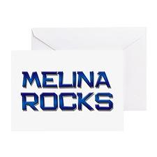 melina rocks Greeting Card