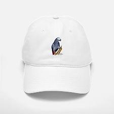 African Gray Parrot Baseball Baseball Cap
