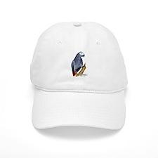 African Gray Parrot Baseball Cap