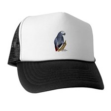 African Gray Parrot Trucker Hat