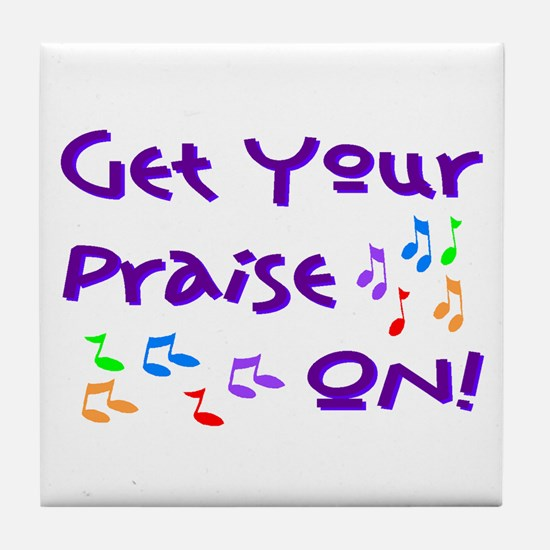 Christian Music Tile Coaster
