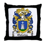 Oxholm Coat of Arms Throw Pillow