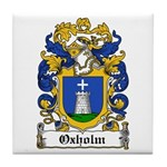 Oxholm Coat of Arms Tile Coaster