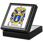 Oxholm Coat of Arms Keepsake Box