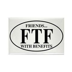 FTF Friends with Benefits Rectangle Magnet (10 pac
