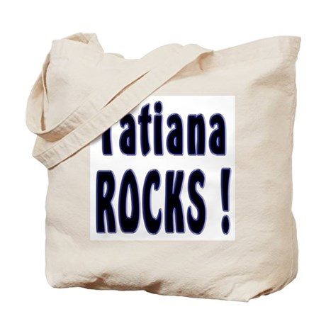 Tatiana Rocks ! Tote Bag