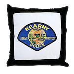 Kearny Police Throw Pillow