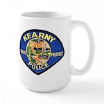 Kearny Police Large Mug