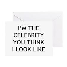 I'm Celebrity Greeting Card