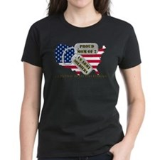 Proud Mom of 2 US Army Soldiers Tee