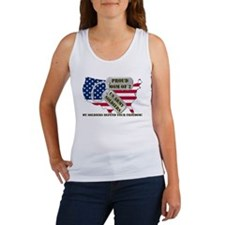 Proud Mom of 2 US Army Soldiers Women's Tank Top