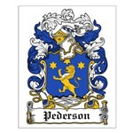 Pederson Coat of Arms Small Poster