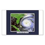 Hurricane Rectangle Sticker 10 pk)