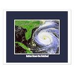 Hurricane Small Poster