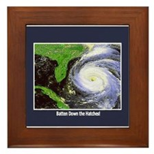 Hurricane Framed Tile
