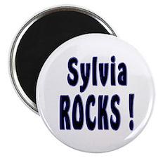 Sylvia Rocks ! Magnet