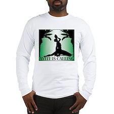 Haiti is Calling Green Long Sleeve T-Shirt