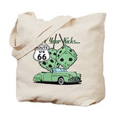 Green Dice Rt 66 Classic Tote Bag