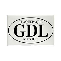 GDL Tlaquepaque Rectangle Magnet (100 pack)