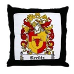 Reedtz Coat of Arms Throw Pillow