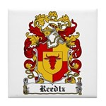 Reedtz Coat of Arms Tile Coaster