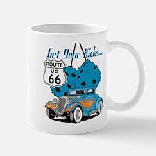 Dice Rt 66 Hot Rod Mug