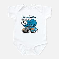 Dice Rt 66 Hot Rod Infant Bodysuit
