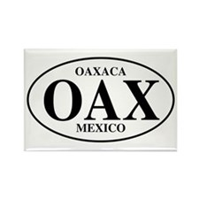 OAX Oaxaca Rectangle Magnet