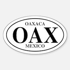OAX Oaxaca Oval Decal