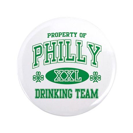 "Philadelphia Irish Drinking Team 3.5"" Button"