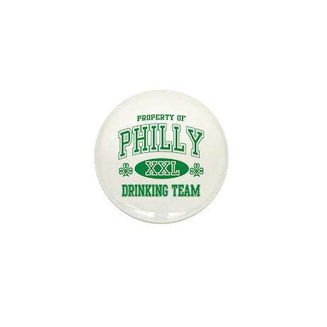 Philadelphia Irish Drinking Team Mini Button