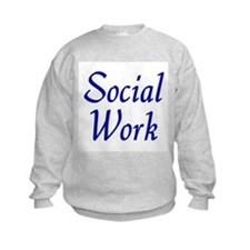 Social Work (blue) Sweatshirt