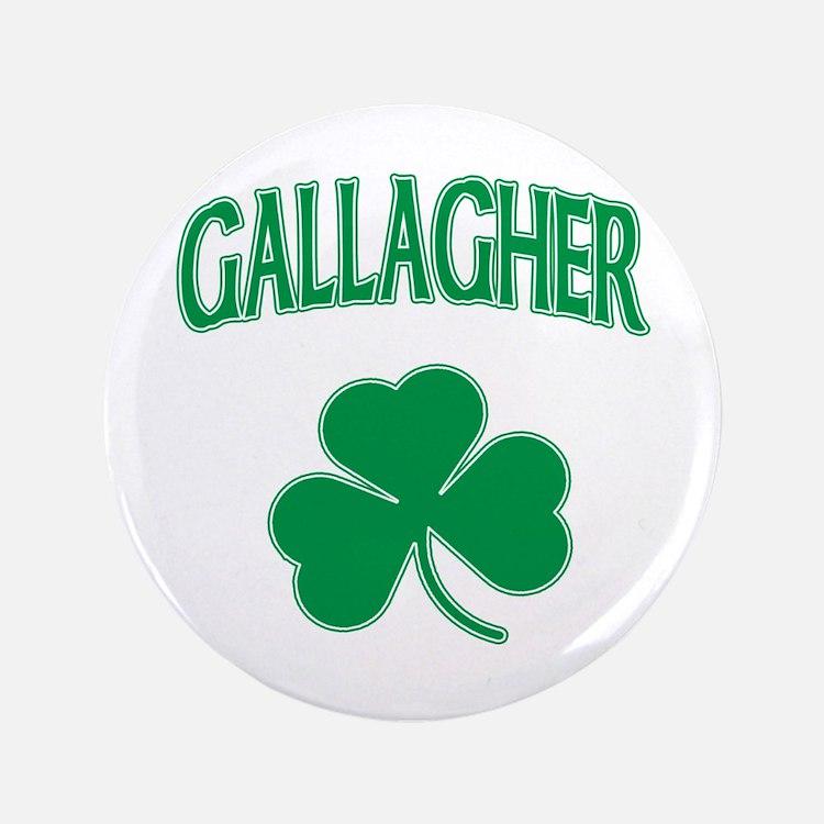 """Gallagher Irish 3.5"""" Button"""
