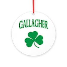 Gallagher Irish Ornament (Round)