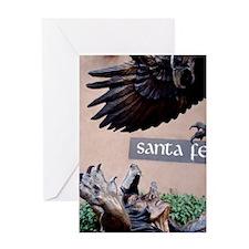 SANTA FE Greeting Card