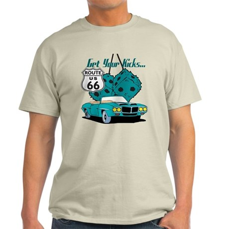 Blue Dice Route 66 Light T-Shirt