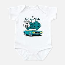 Blue Dice Route 66 Infant Bodysuit