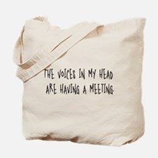 Voices Meeting Tote Bag
