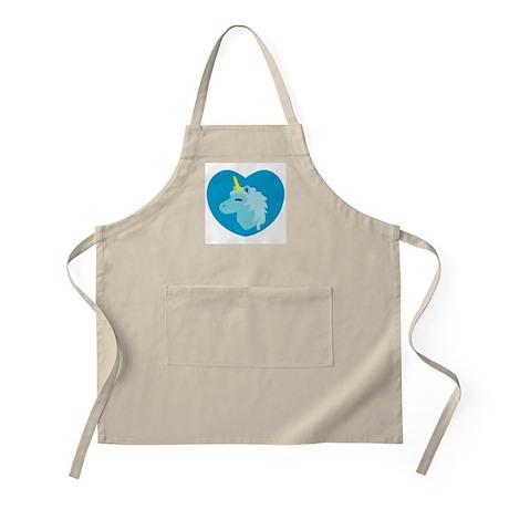 Blue Unicorn BBQ Apron
