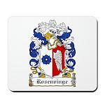 Rosenvinge Coat of Arms Mousepad
