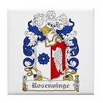 Rosenvinge Coat of Arms Tile Coaster