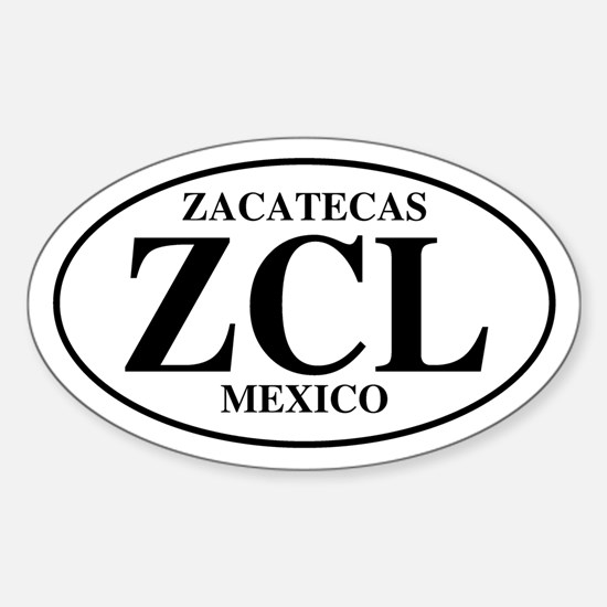 ZCL Zacatecas Oval Decal