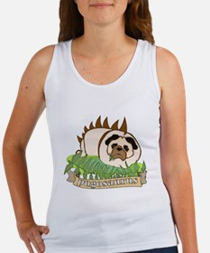 Pugosaurus Women's Tank Top