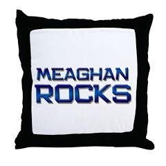 meaghan rocks Throw Pillow