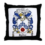 Rytter Coat of Arms Throw Pillow