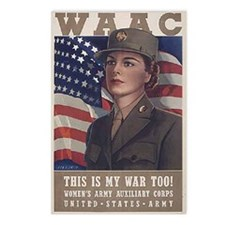 Women's Army Auxiliary Corps Postcards (Package of