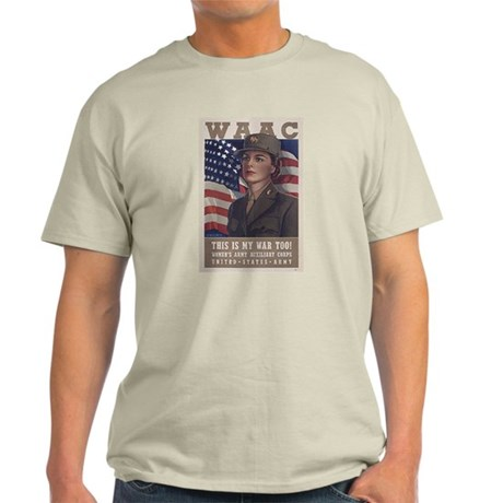 Women's Army Auxiliary Corps Light T-Shirt