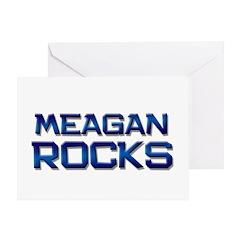 meagan rocks Greeting Card