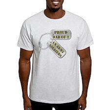 Dad Dog Tags T-Shirt